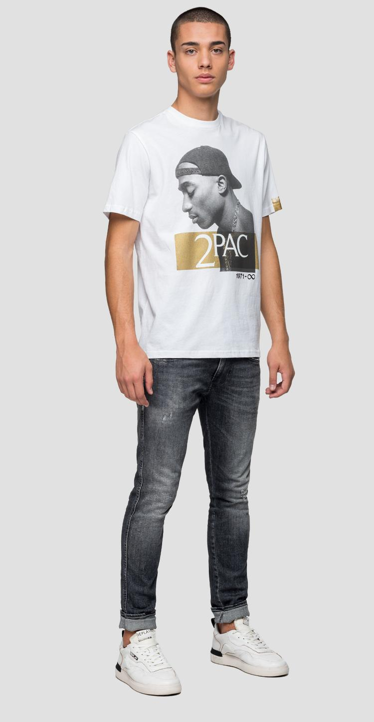 Replay Tribute Tupac Limited Edition t-shirt m3946l.000.22628a