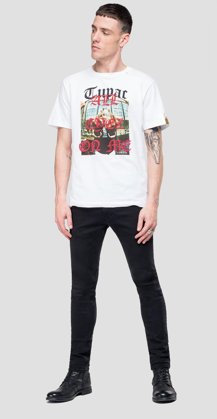 T-shirt Replay Tribute Tupac Limited edition m3949 .000.22628a