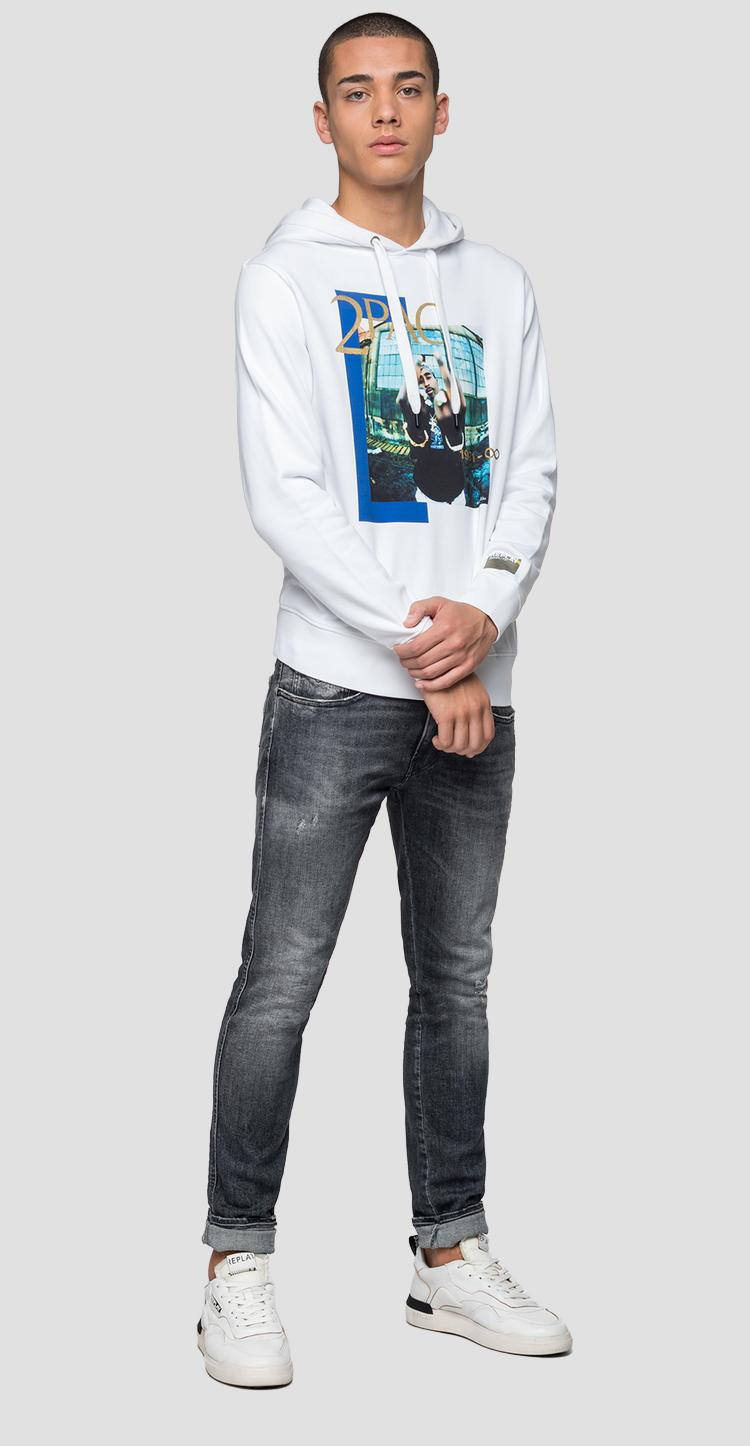 Replay Tribute Tupac Limited Edition sweatshirt m3989a.000.21842