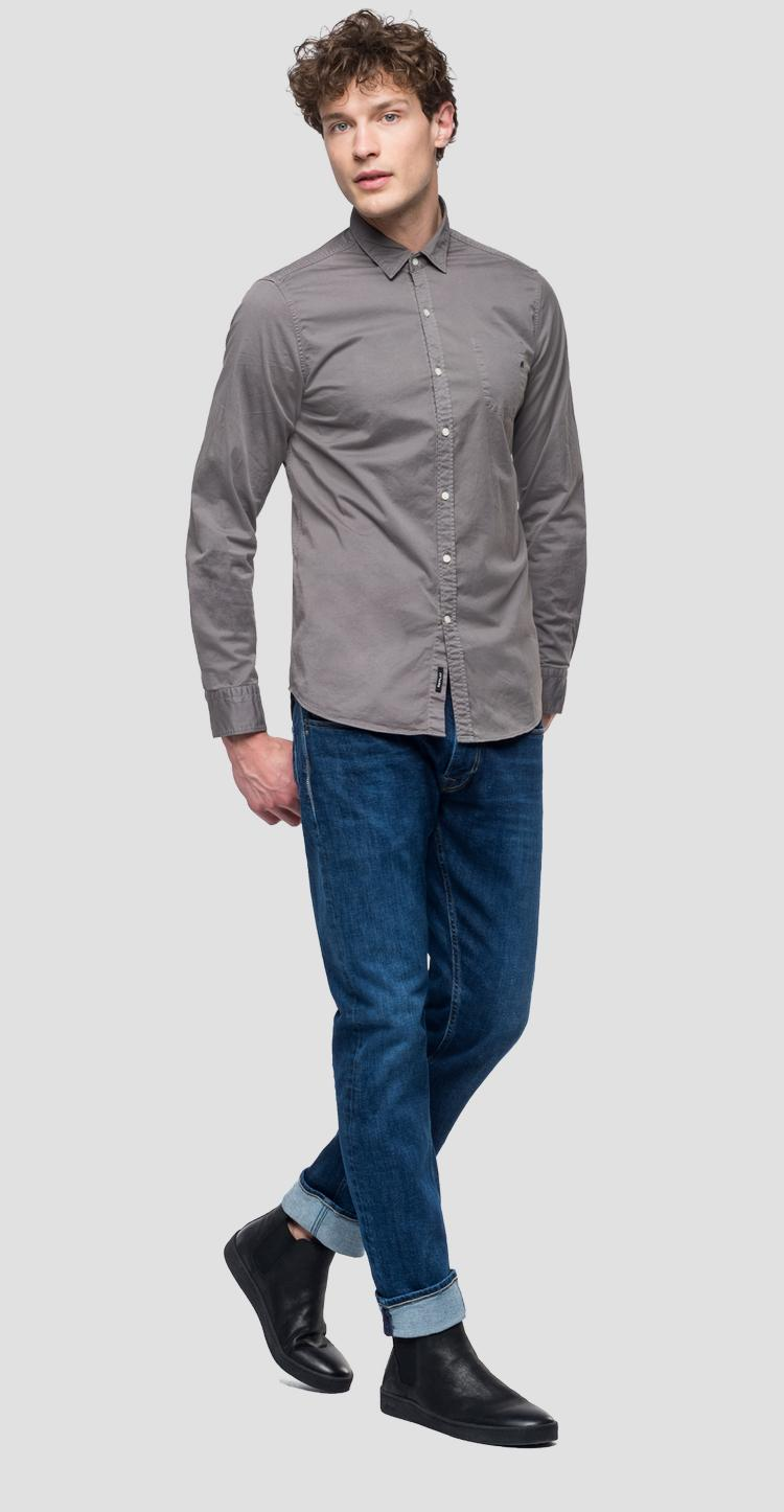 Shirt with pocket m4018 .000.80861g
