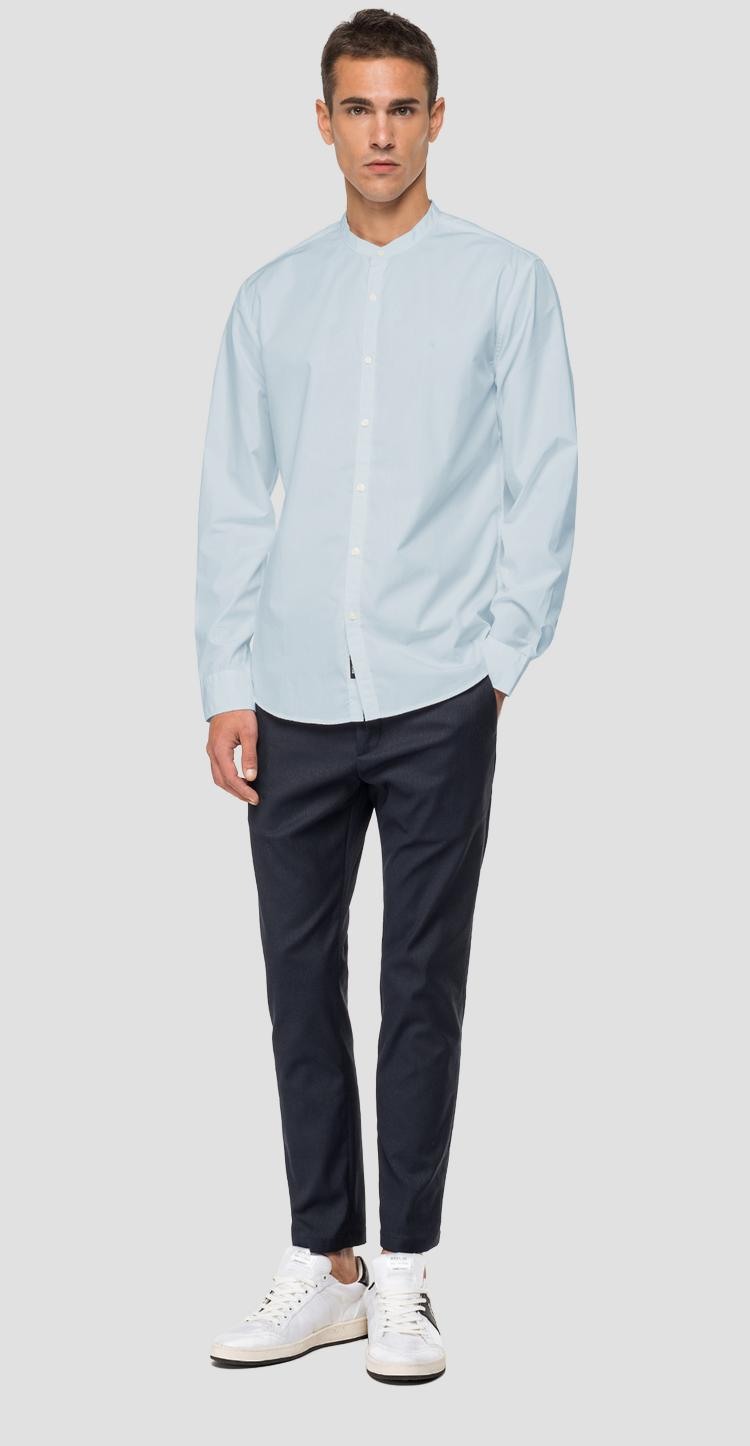 Shirt with mandarin collar - Replay