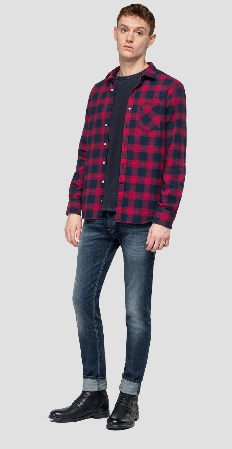 Checked shirt m4953p.000.52128