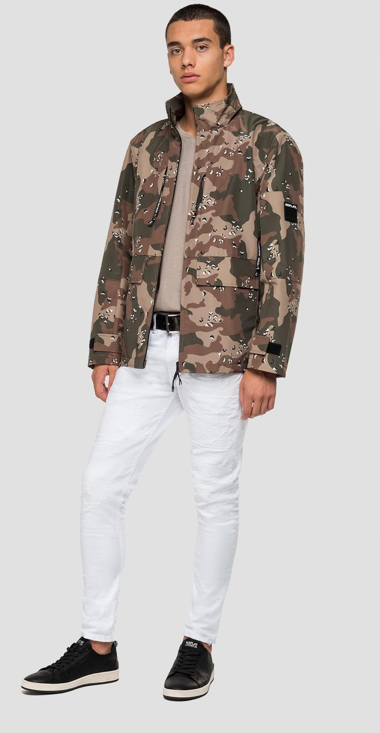 Replay camouflage jacket m8052 .000.71892