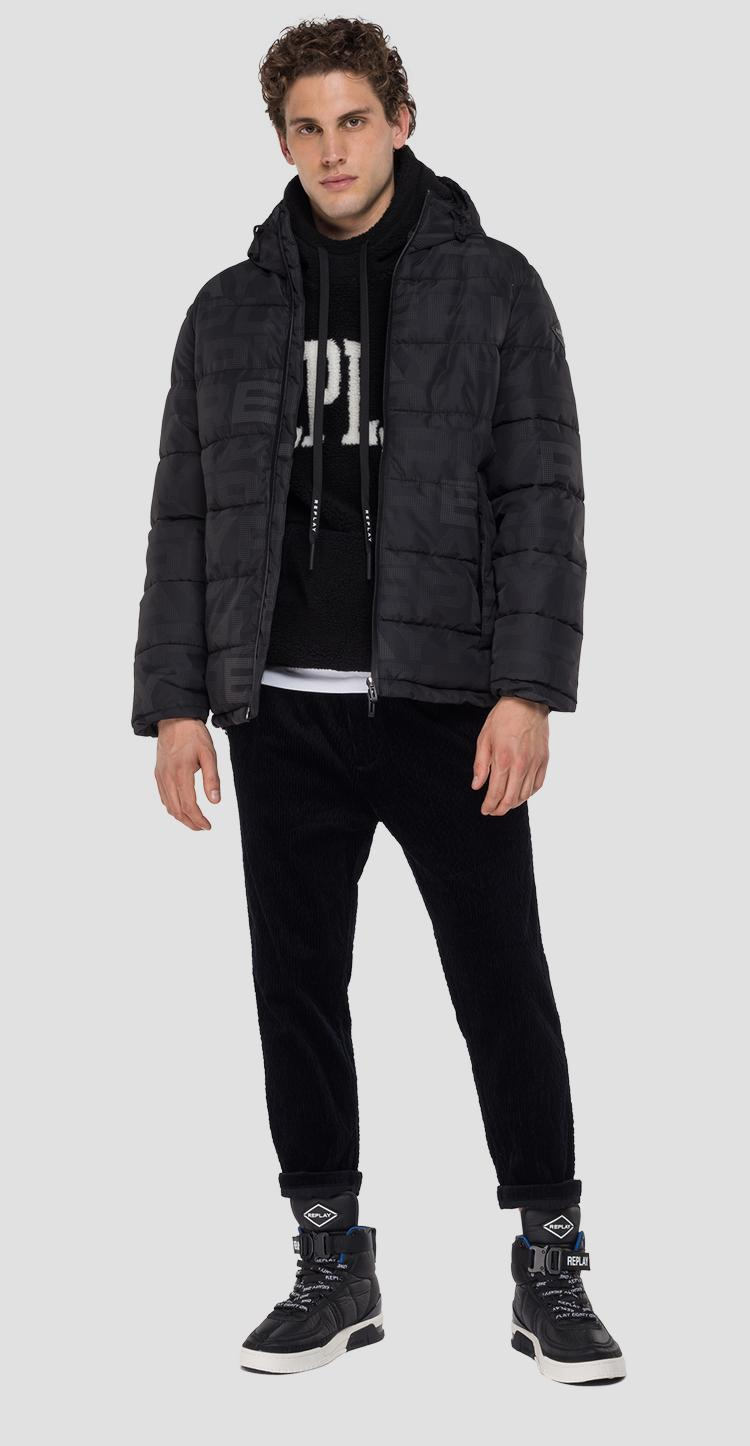 Jacket with all-over REPLAY print m8104 .000.72110