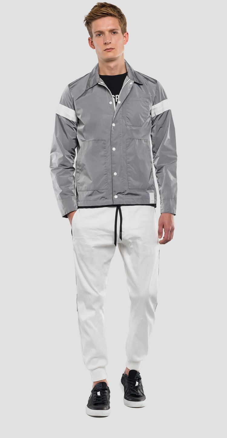 Jacket with refractive effect REPLAY SPORTLAB m8983 .000.s83360