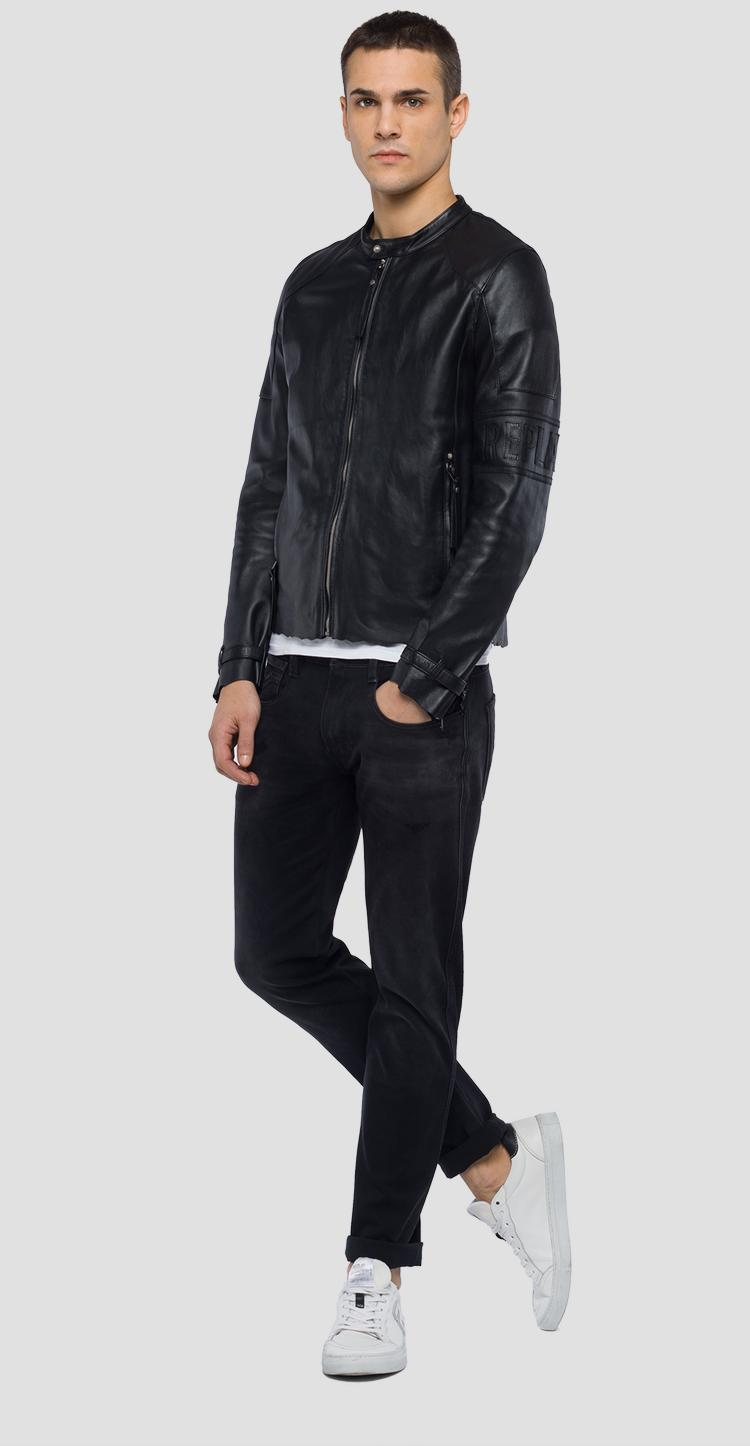 Real leather jacket m8994 .000.83518
