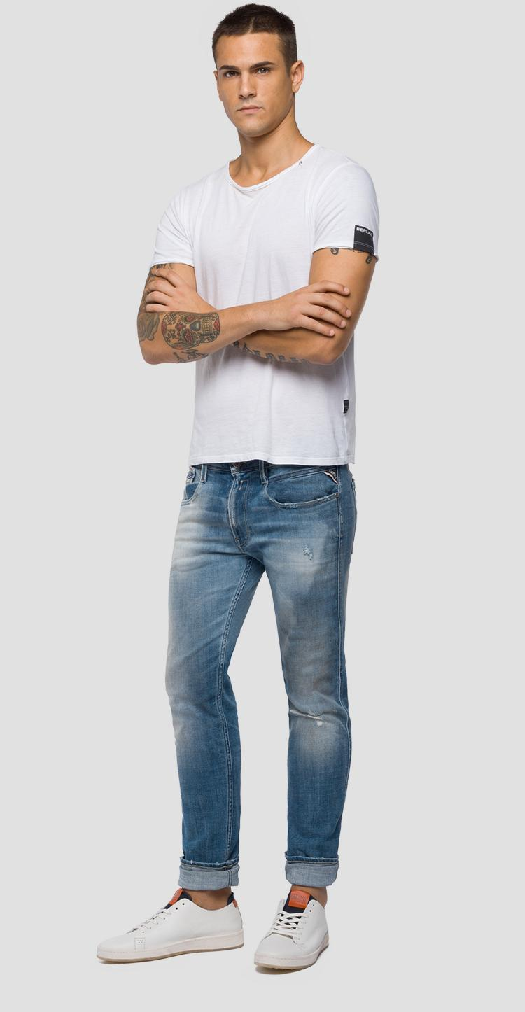 slim fit Anbass jeans Aged 10 years m914n .000.141 460