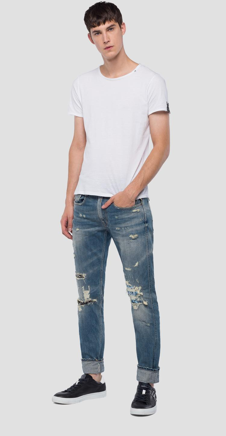 Slim fit Anbass Maestro jeans m914t .000.50c m34