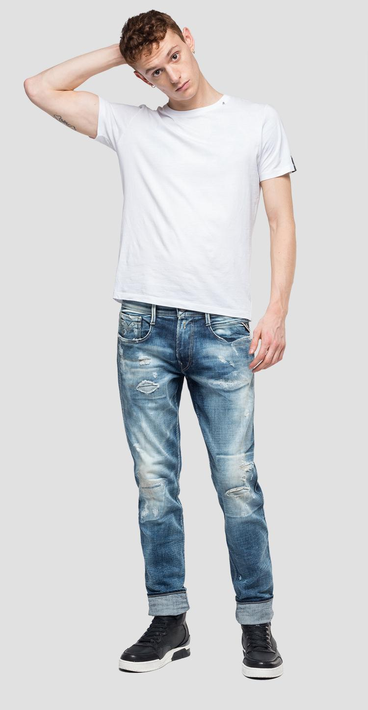 Slim fit Anbass jeans aged 20 year m914y .000.141 596