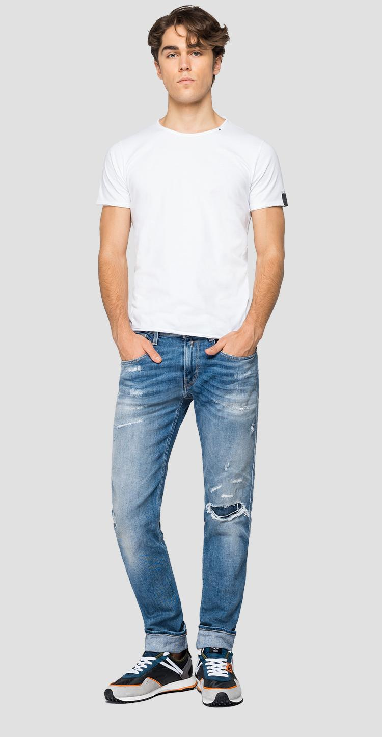 Slim fit aged 20 years Sustainable Cycle Anbass jeans m914y .000.141 709