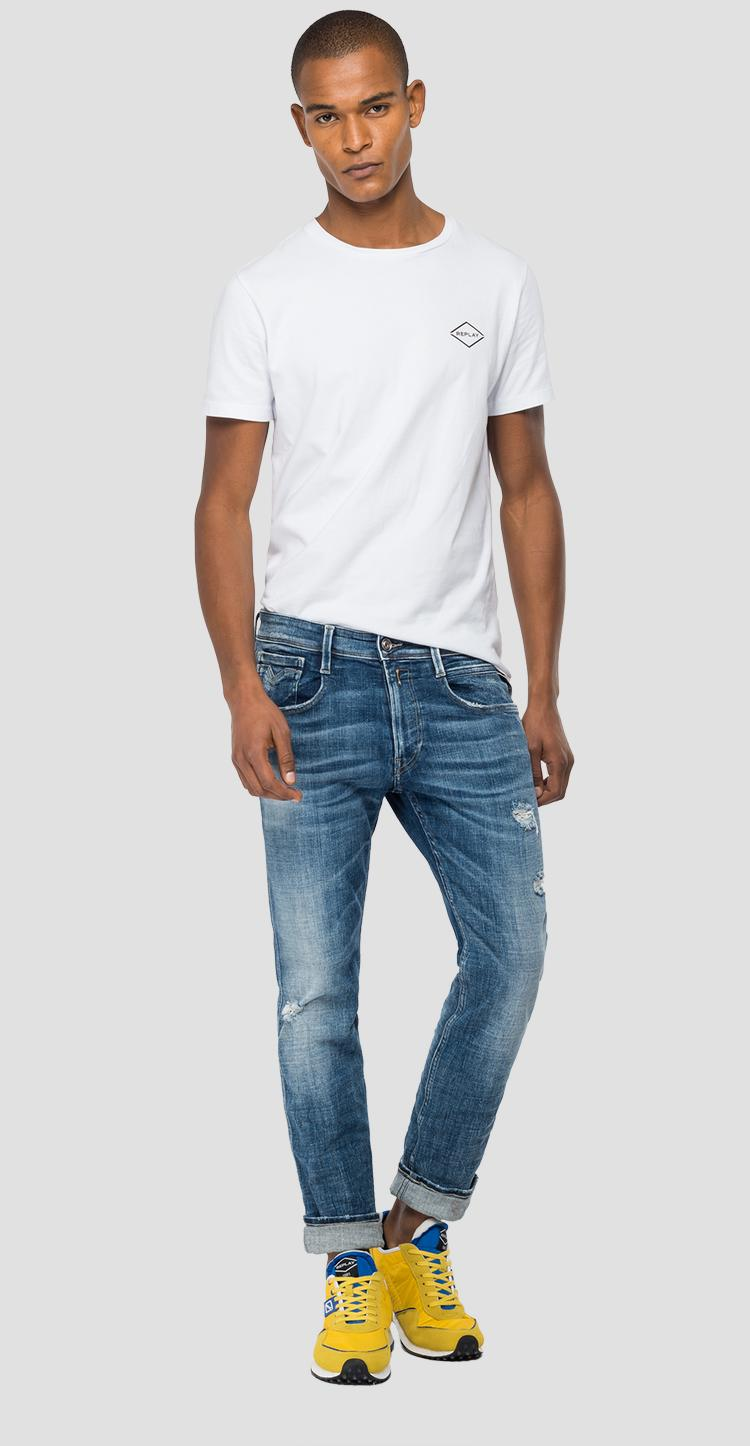 Slim fit Anbass Aged Eco 5 Years jeans - Replay