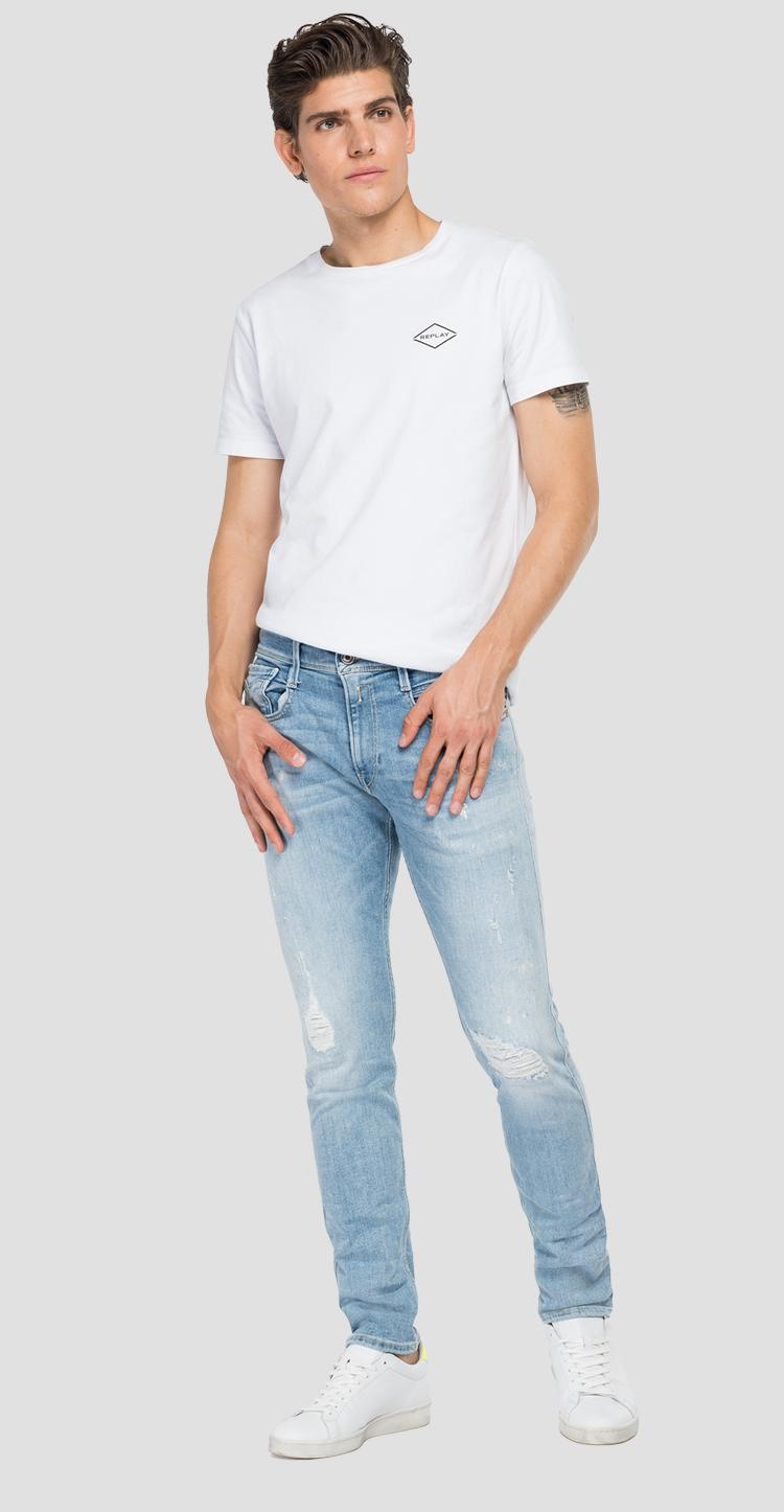 Slim fit Anbass Aged Eco 10 Years jeans - Replay
