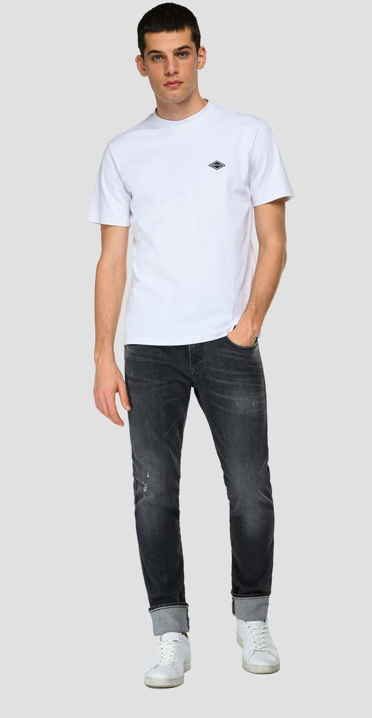 Slim fit Anbass Aged Eco 5 Years Organic jeans - Replay