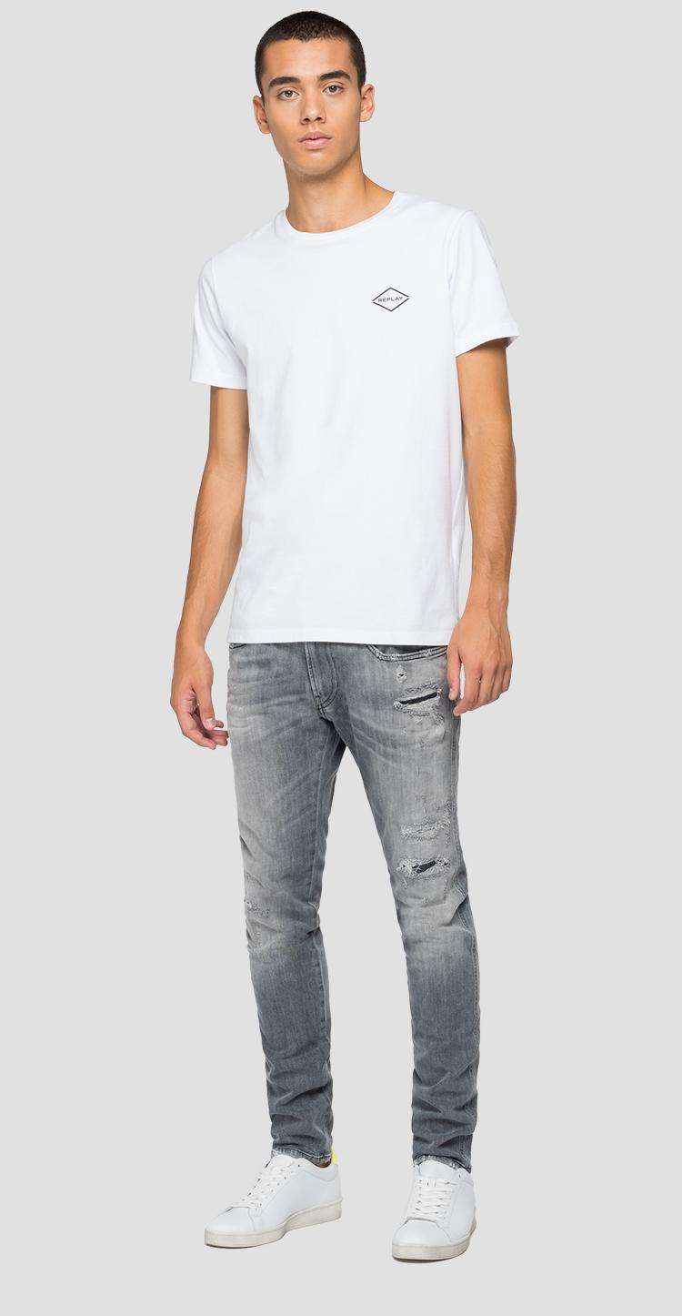 Slim fit Anbass Aged Eco 10 Year Organic jeans m914y .000.199 844