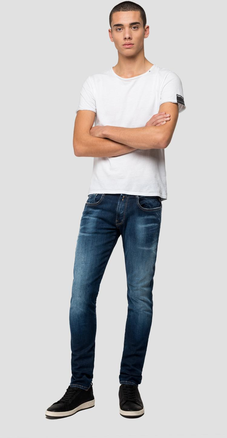 Slim fit Hyperflex Bio Anbass jeans - Replay