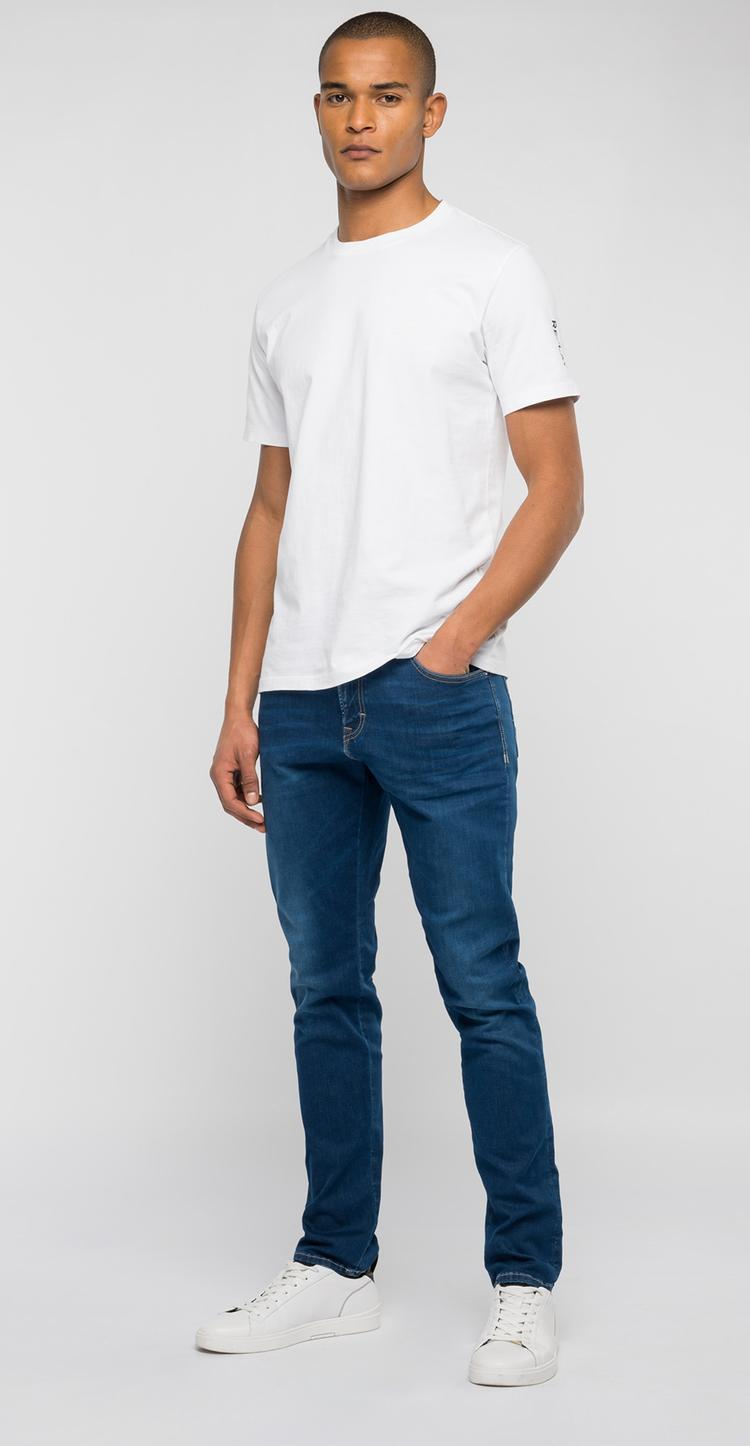 Anbass Hyperflex slim fit jeans - Replay