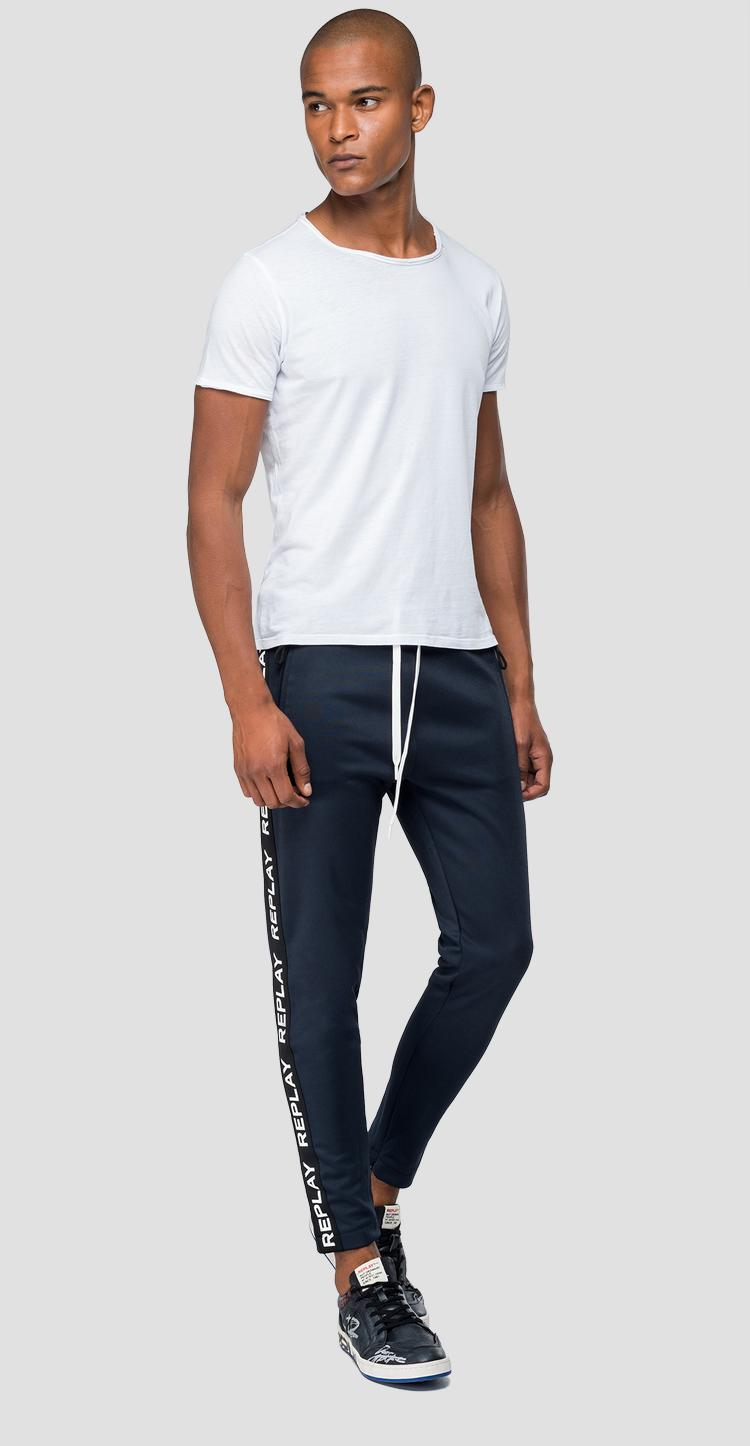 Joggers with writings m9642f.000.22610