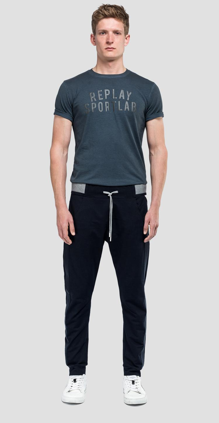 Sporty trousers with drawstring sportlab m9672 .000.s231409