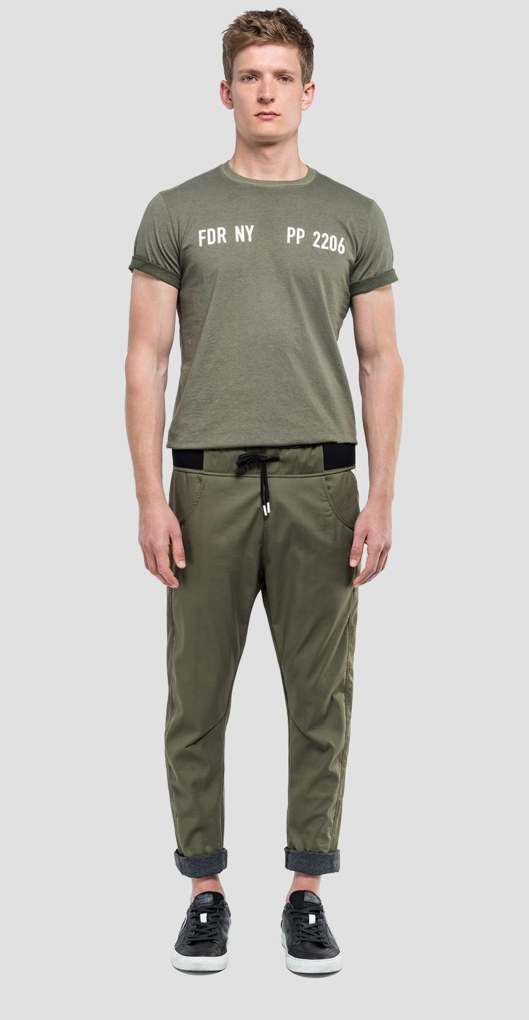 Sporty trousers with drawstring sportlab m9673 .000.s83456