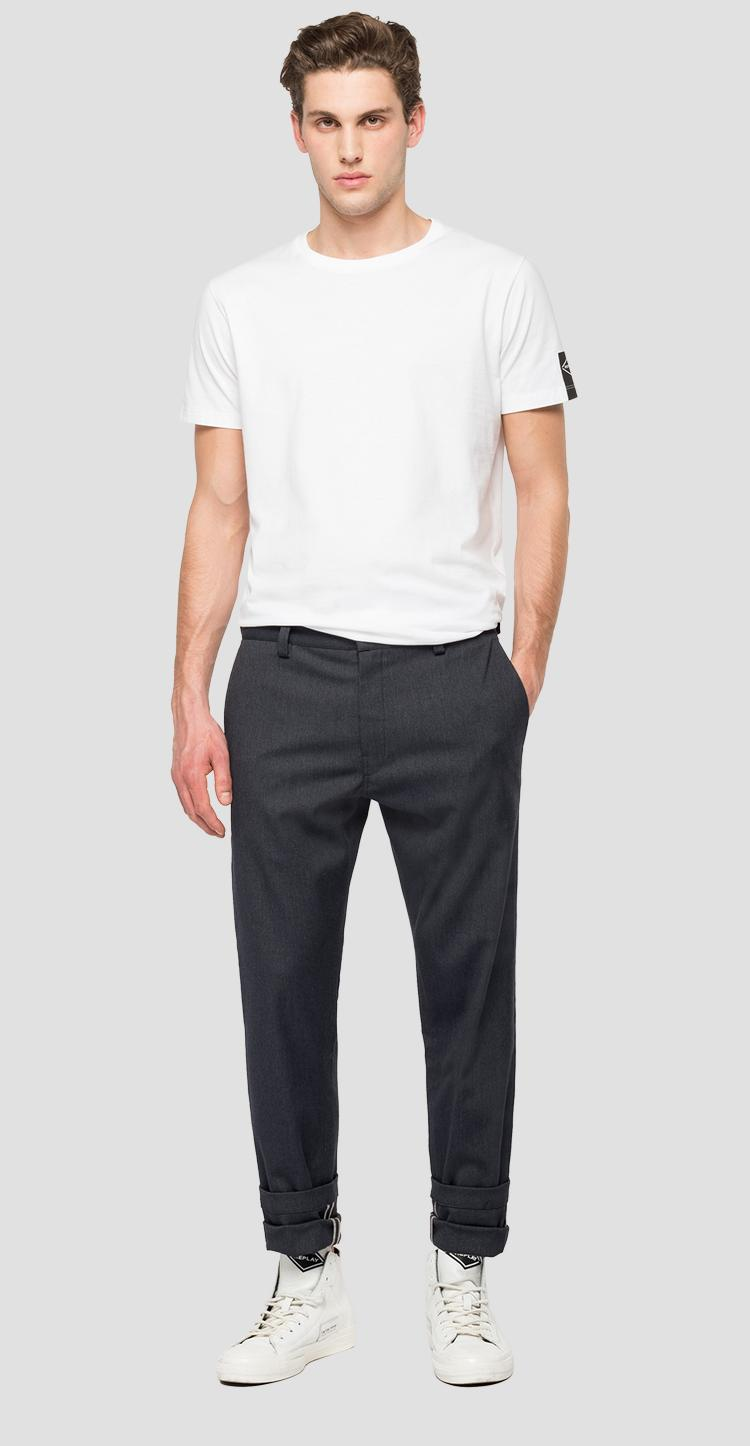 Replay Tailored stretch canvas twill chino trousers m9676s.000.8091507