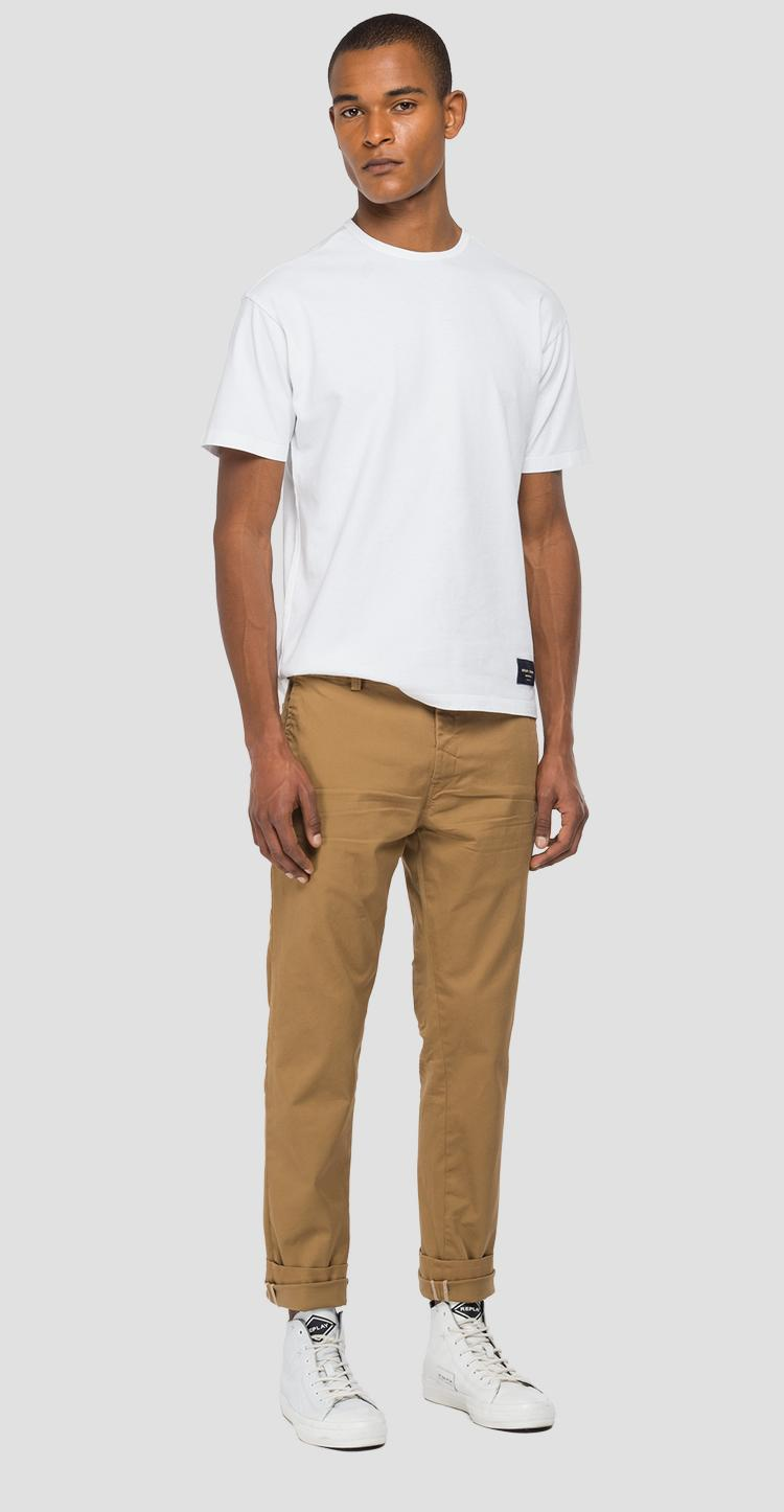 Tailoring chino trousers in cotton m9676 .000.8087955