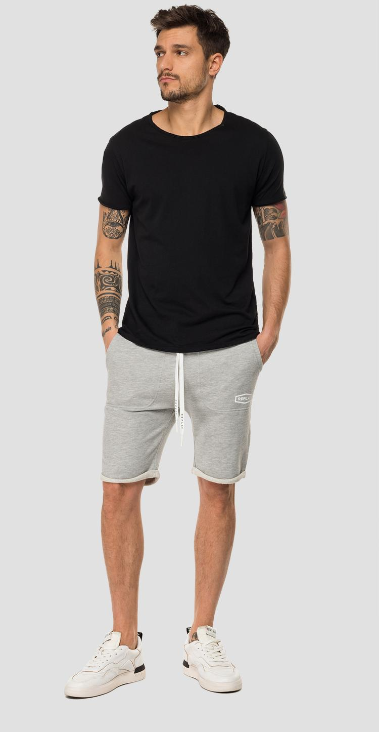 REPLAY fleece bermuda shorts m9701 .000.22390p