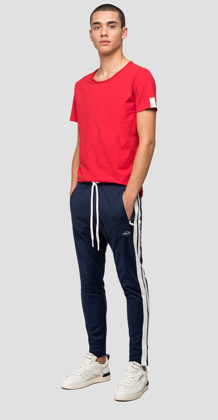Jogger with tech fleece bands - Replay