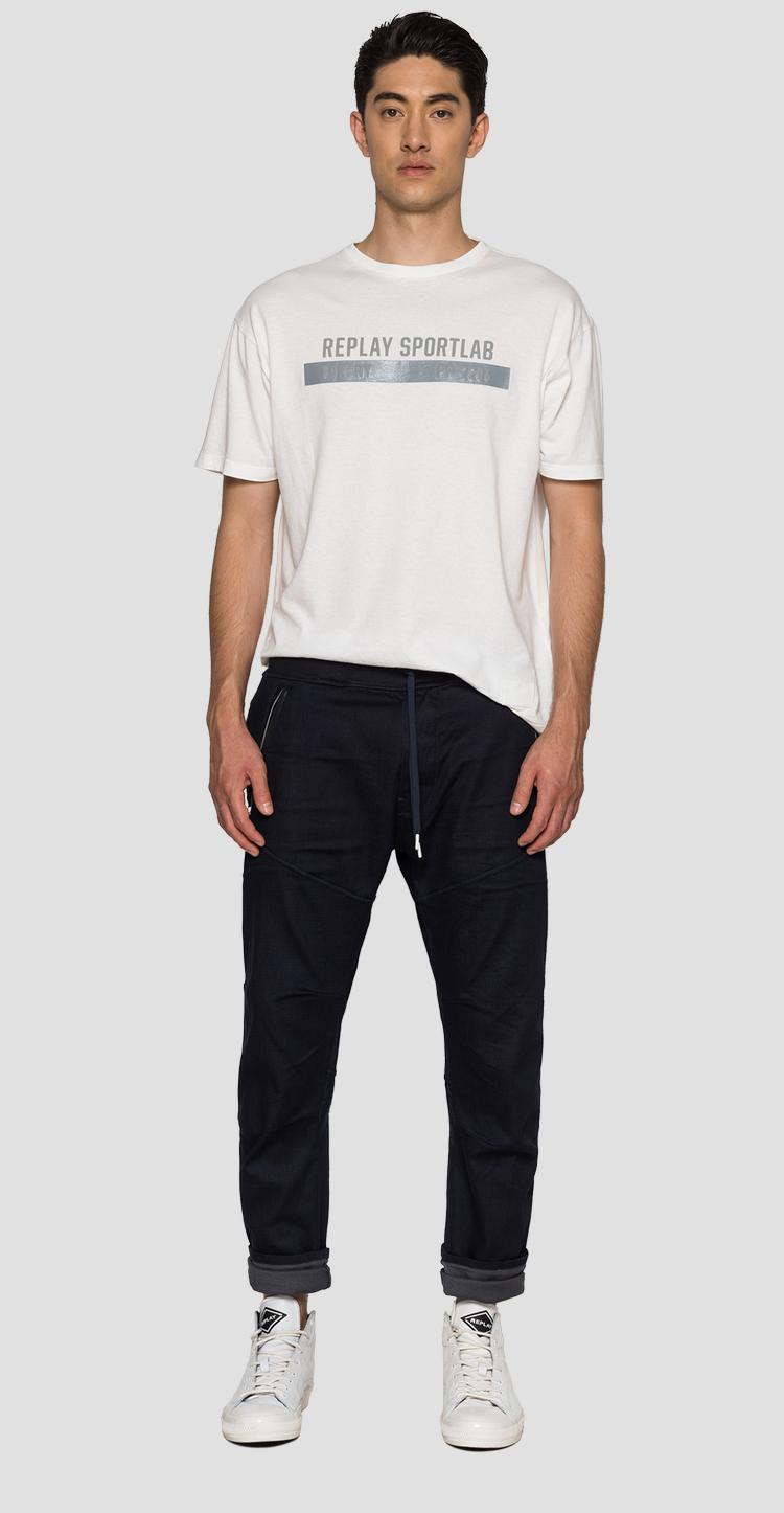 SPORTLAB trousers with drawstring - Replay