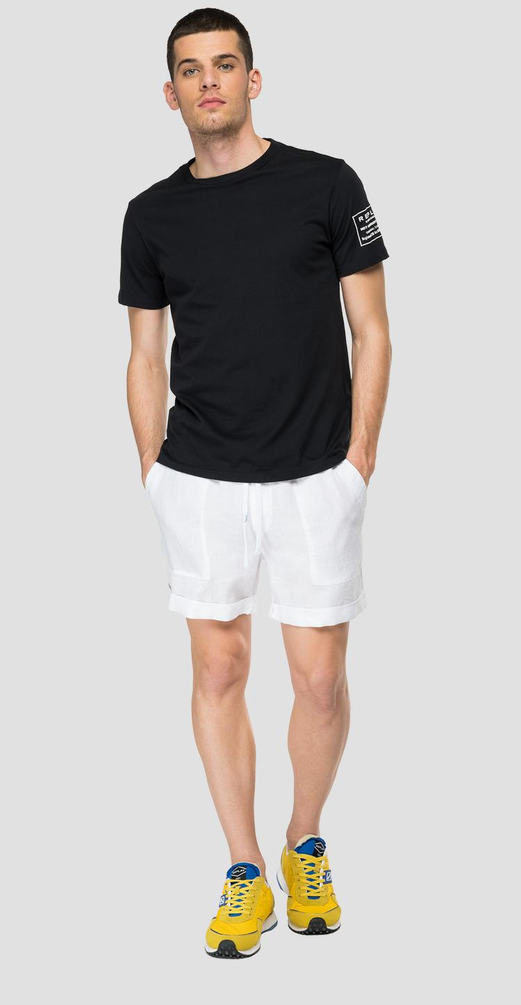Essential bermuda shorts in linen m9757 .000.84072g