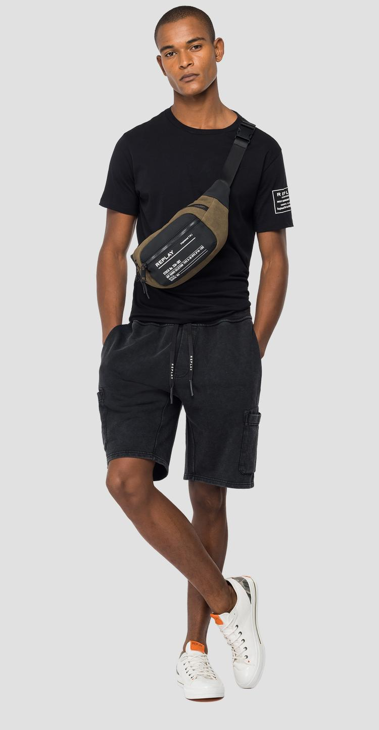 Fleece bermuda shorts with pockets m9759 .000.22738lm