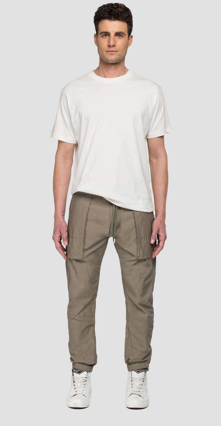REPLAY SPORTLAB solid-coloured jogger pants with pockets m9767 .000.s84134