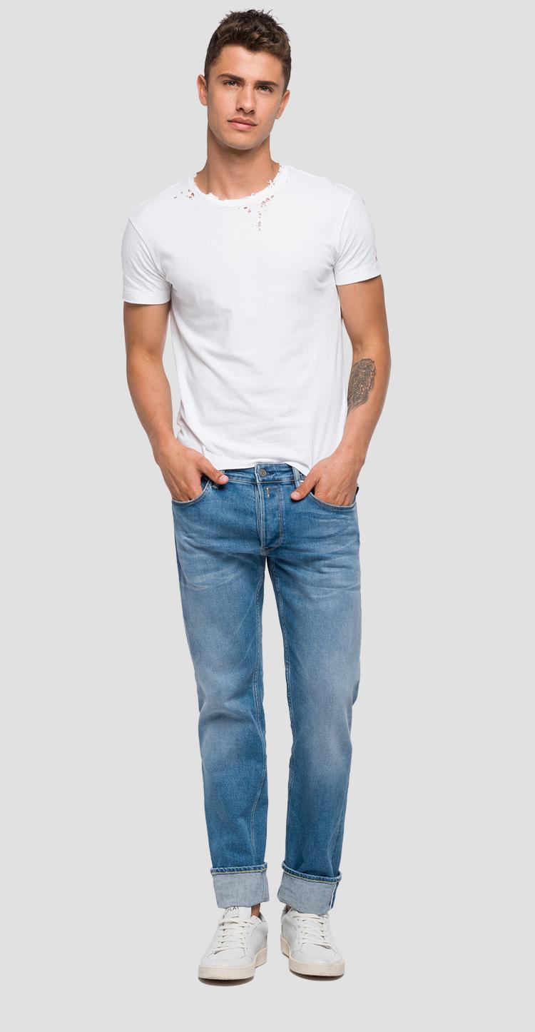 3430bba4 RONAS selvedge stretch slim fit jeans - Replay