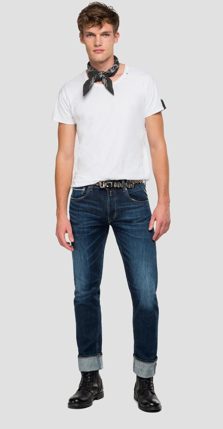 Straight fit Grover Selvedge jeans mca972.000.253 621