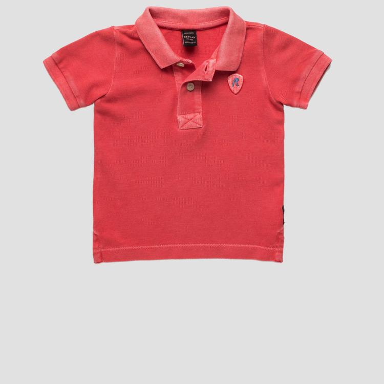Pure cotton polo t-shirt- REPLAY&SONS