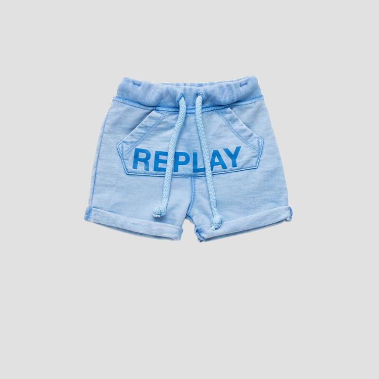 Shorts with maxi pocket- REPLAY&SONS