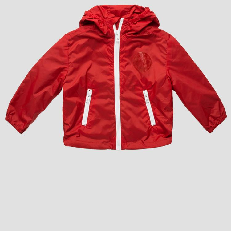 Technical jacket with zipper pg8205.050.83320