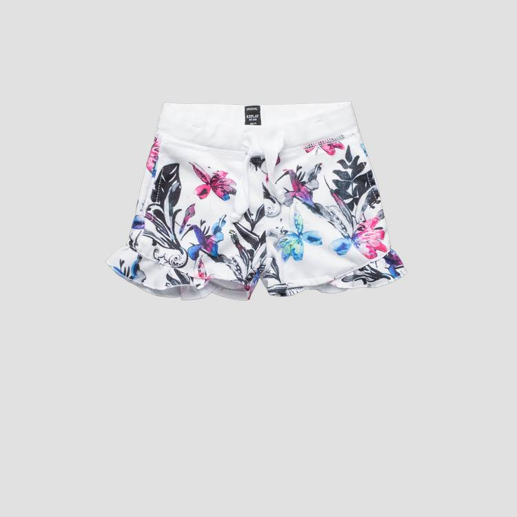 Shorts with floral print pg9580.050.29868ks