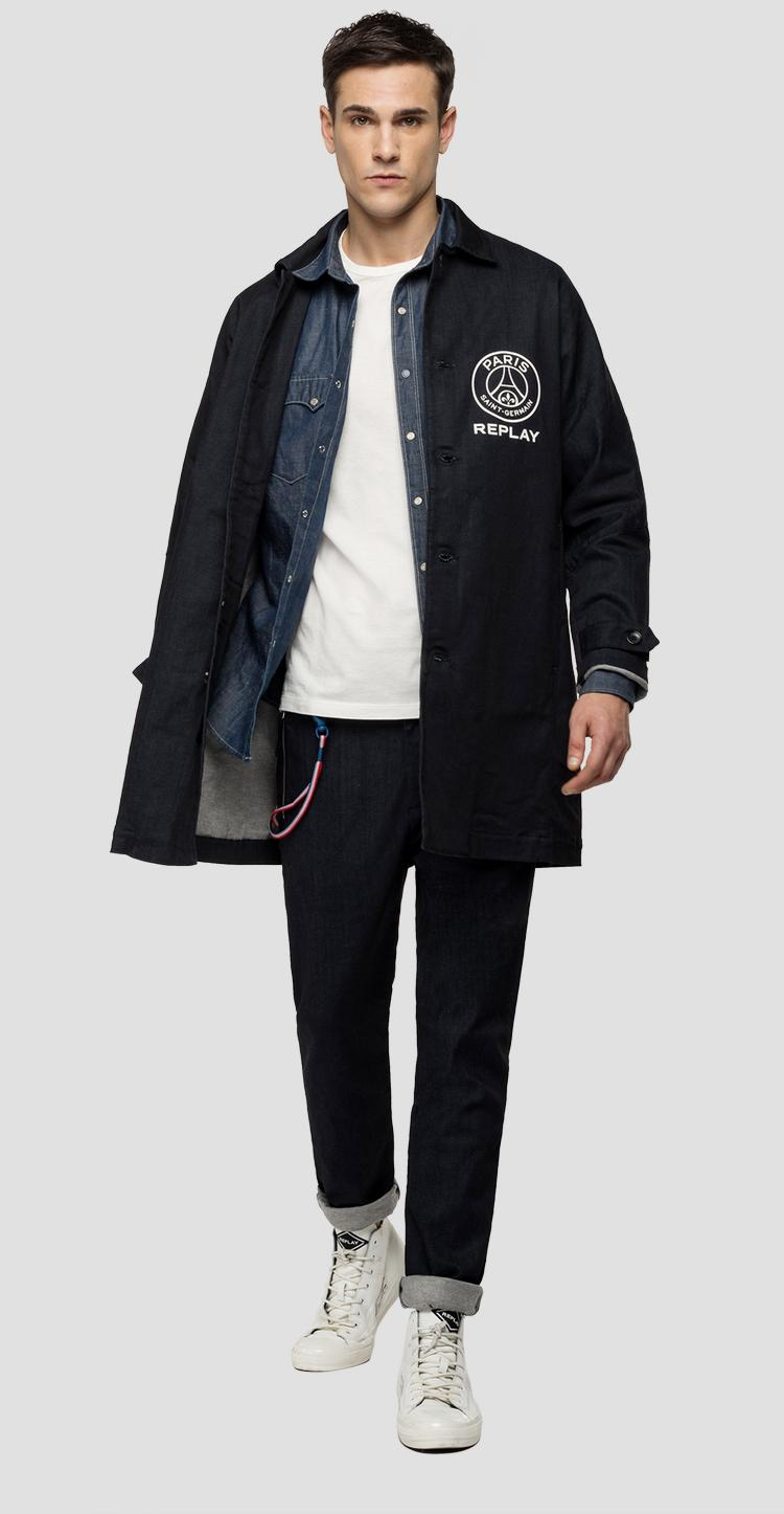 Replay PSG denim trench coat psg896.000.135 g05