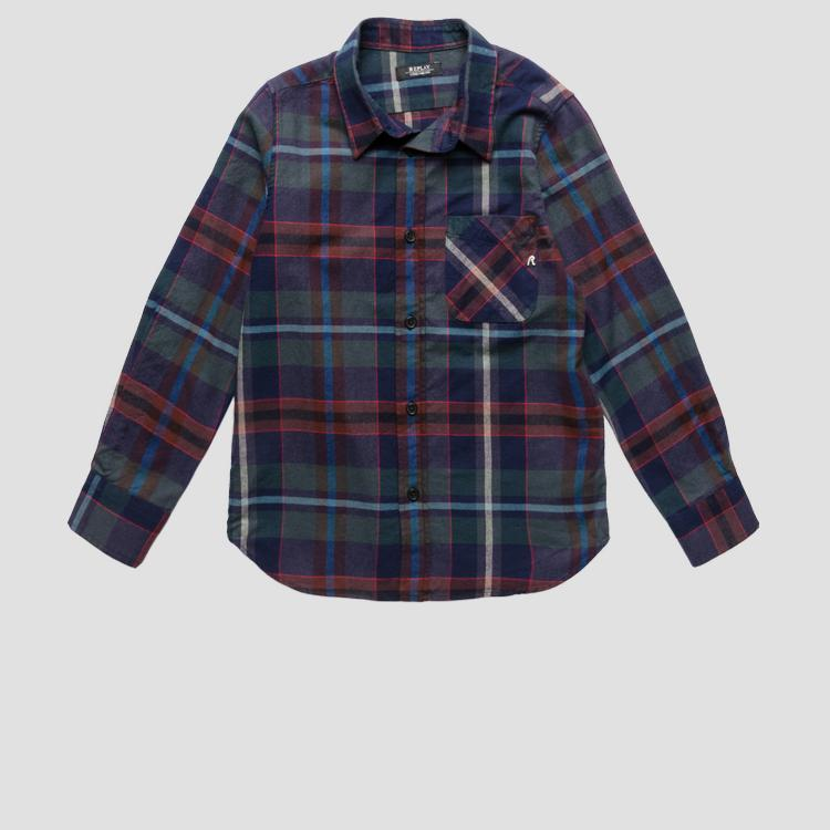 Regular fit checked shirt sb1113.050.52362