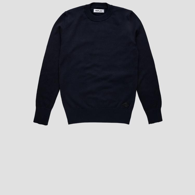 Hyperflex cotton crewneck sweater sb5055.050.g22920