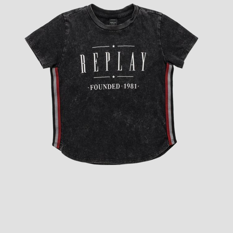 REPLAY FOUNDED 1981 t-shirt sb7382.050.22658g