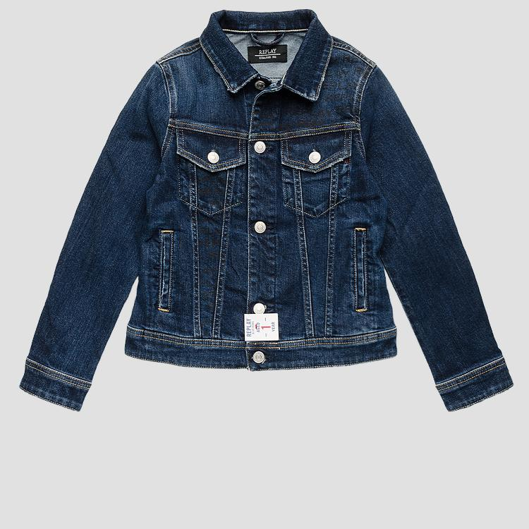 REPLAY Aged 1 Year denim jacket sb8100.061.223 214