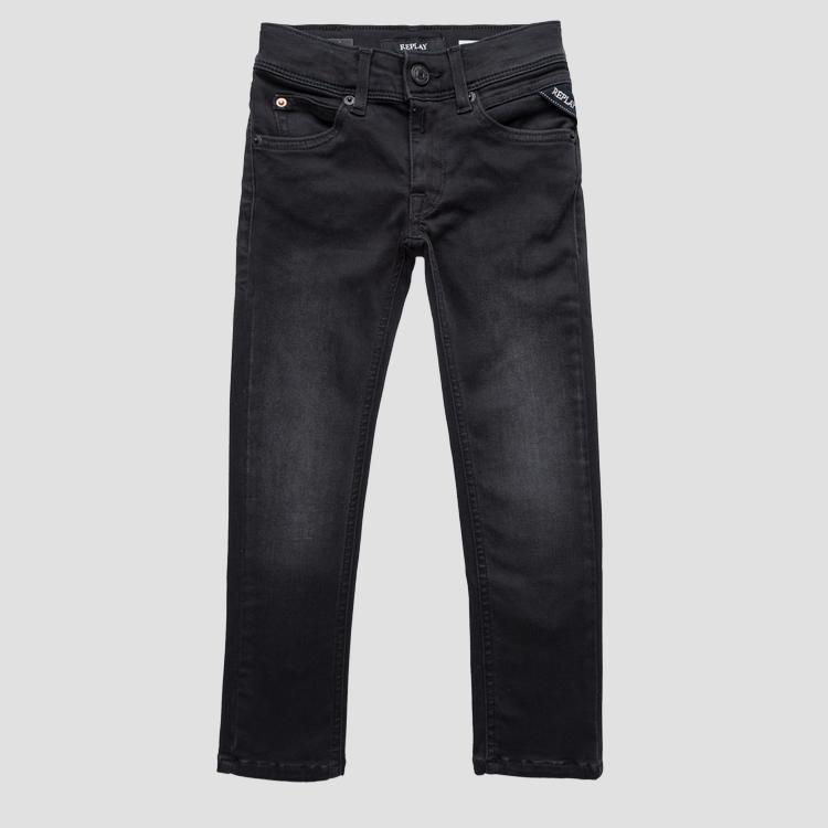 Super slim fit Hyperflex jeans- REPLAY&SONS