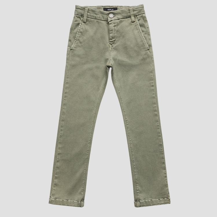 Slim fit Hyperflex jeans- REPLAY&SONS