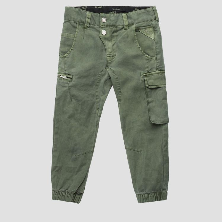 Multi-pockets cargo pants- REPLAY&SONS