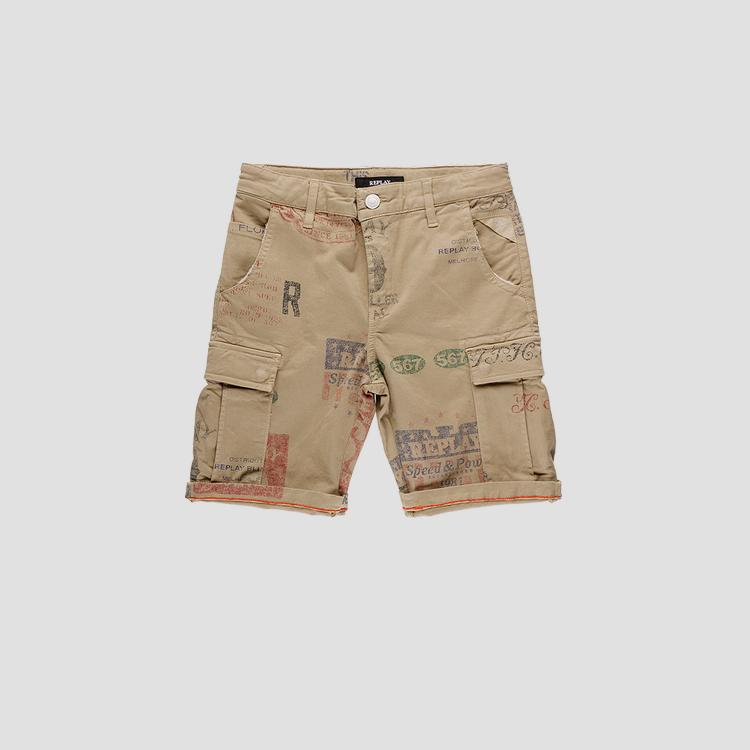 Multipockets Replay short pants- REPLAY&SONS