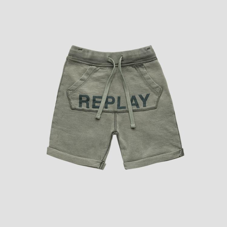 Shorts with REPLAY writing- REPLAY&SONS