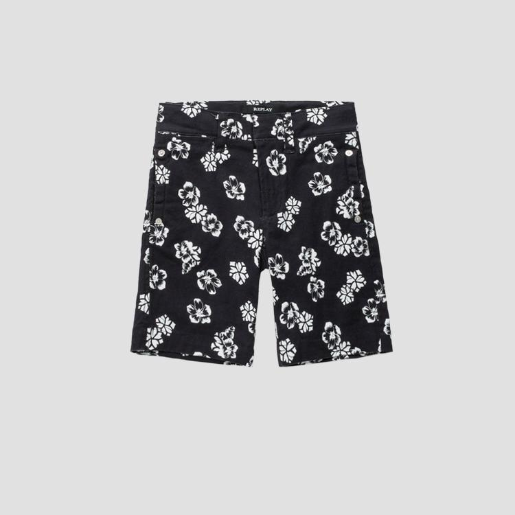Shorts with floral print sb9642.050.80655kc