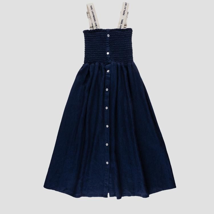 Long dress with buttons sg3186.050.83620