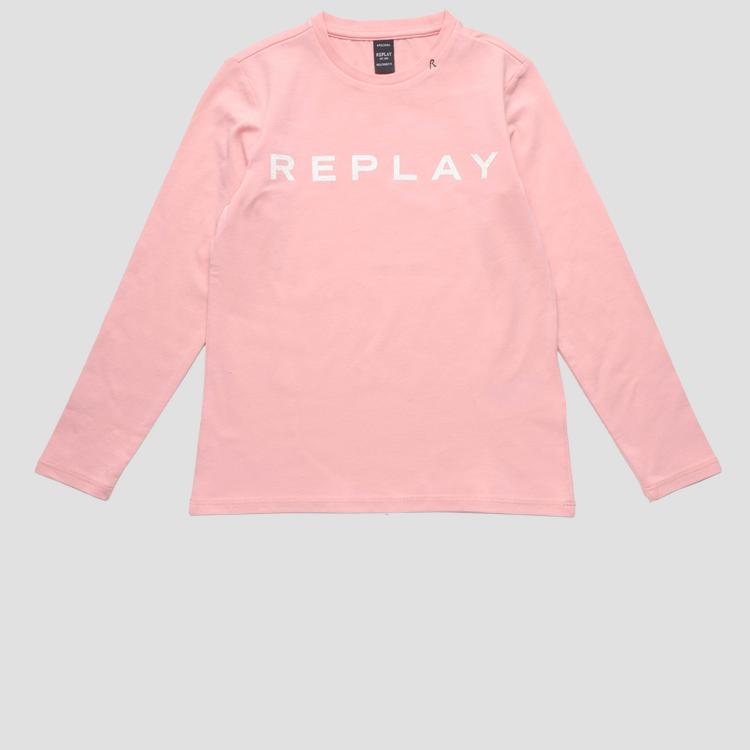 Long-sleeved REPLAY t-shirt- REPLAY&SONS